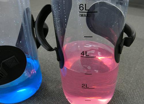 TaikanStreamには6Lまで水を増量できる